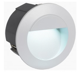 Eglo Zimba-LED Lampa rotunda incastrata 1x2.5W, argintiu