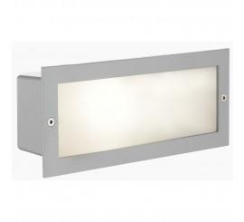 Eglo Zimba Lampa dreptunghiulara incastrata 1x60W, argintiu