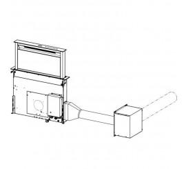 Franke Kit de instalare motor hota la distanta