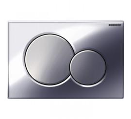 Geberit Sigma01 Clapeta actionare Dual-flush, crom lucios/crom mat