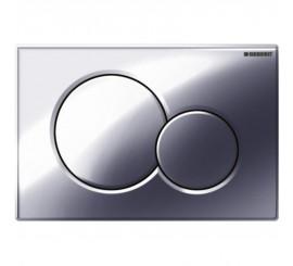 Geberit Sigma01 Clapeta actionare Dual-flush pentru rezervor incastrat, crom