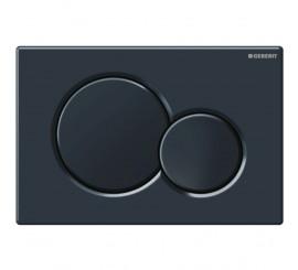 Geberit Sigma01 Clapeta actionare Dual-flush pentru rezervor incastrat, negru