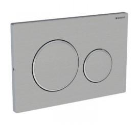 Geberit Sigma20 Clapeta de actionare dual-flush pentru rezervor incastrat, antivandalism