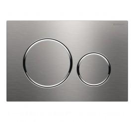 Geberit Sigma20 Clapeta de actionare dual-flush pentru rezervor incastrat, inox