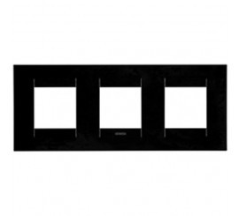 Gewiss Chorus Geo International Rama decorativa pentru 6 module, negru