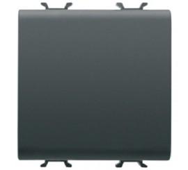 Gewiss Chorus Intrerupator cap scara cu 2 module, negru