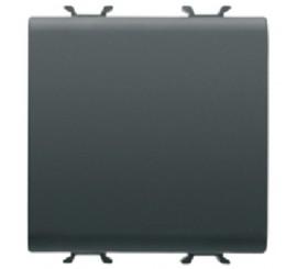 Gewiss Chorus Intrerupator cu 2 module, negru