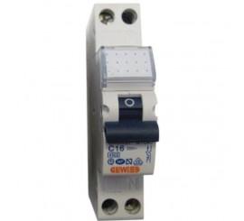 Gewiss Compact MCB Siguranta automata faza+nul 16A