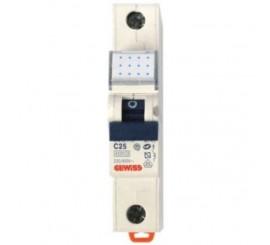 Gewiss Compact MCB Siguranta automata monopolara 25A