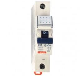 Gewiss Compact MCB Siguranta automata monopolara 32A