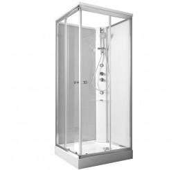 Glass Archimede Basic Cabina de dus dreptunghiulara 100x80 cm