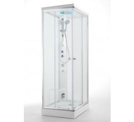 Glass Archimede Steam Cabina de dus dreptunghiulara 100x80 cm