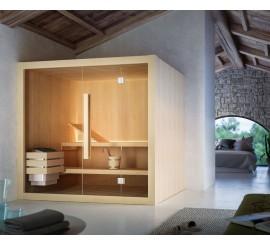 Glass Hoshi Sauna traditionala 180x160 cm