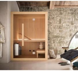Glass Hoshi Sauna traditionala 150x135 cm