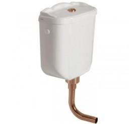 Globo Mecanism spalare vas WC, alimentare superioara, conducta bronz
