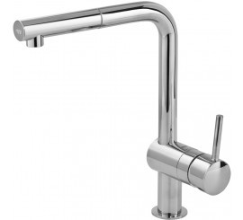 Grohe Minta Touch Baterie de bucatarie monocomanda electronica, cu dus extractibil, pipa in L