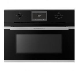 Kuppersbusch Comfort+ CBM 6330 Cuptor microunde compact, negru, design stainless steel