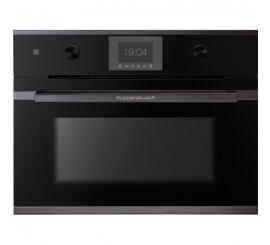 Kuppersbusch Comfort+ CBM 6550 Cuptor microunde compact, negru, design black chrome