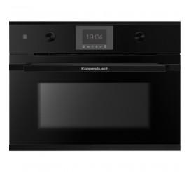 Kuppersbusch Comfort+ CBM 6550 Cuptor microunde compact, negru, design black velvet