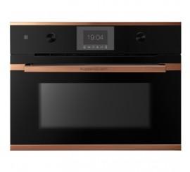 Kuppersbusch Comfort+ CBM 6550 Cuptor microunde compact, negru, design copper