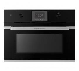 Kuppersbusch Comfort+ CBM 6550 Cuptor microunde compact, negru, design stainless steel