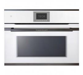Kuppersbusch Premium+ CBM 6550 Cuptor microunde compact, alb, design black chrome