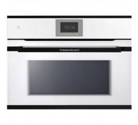 Kuppersbusch Premium+ CBM 6550 Cuptor microunde compact, alb, design black velvet
