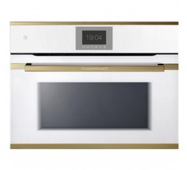 Kuppersbusch Premium+ CBM 6550 Cuptor microunde compact, alb, design gold