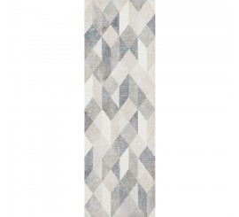 Marazzi Chalk Grey/Smoke/Avio Origami Decor 25x76 cm