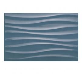 Marazzi Chroma Blue Struttura Tide 3D Faianta 25x38 cm