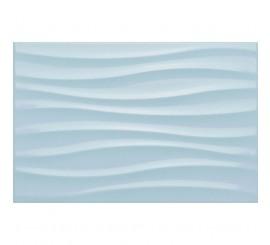 Marazzi Chroma Light Blue Struttura Tide 3D Faianta 25x38 cm