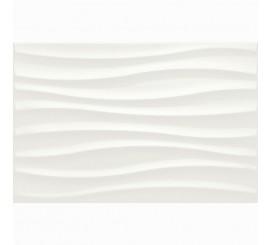 Marazzi Chroma White Struttura Tide 3D Faianta 25x38 cm