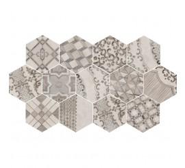 Marazzi Clays Cotton/Lava Decor Cementine 21x18.2 cm