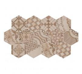 Marazzi Clays Earth/Sand/Shell Decor Cementine 21x18.2 cm