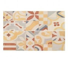 Marazzi Cloud Mandala Cream Decor 7x60 cm