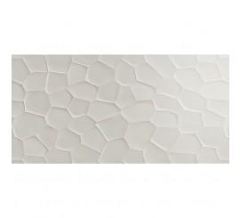 Marazzi Color Code Grigio Struttura Deco 3D Satinato Faianta rectificata 30x60 cm