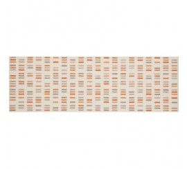 Marazzi Colourline Ivory/Taupe/Orange Decor 22x66 cm
