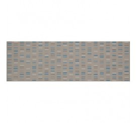 Marazzi Colourline Taupe/Ivory/Blue Decor 22x66 cm