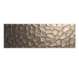 Marazzi Essenziale Struttura Deco 3D Metal Decor 40x120 cm
