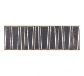 Marazzi Mellow Platino Decor faianta 10x30 cm