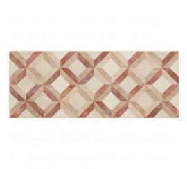 Marazzi Paint Sabbia/Rosso Decor 50x20 cm