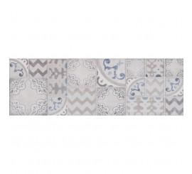 Marazzi Pottery Silver/Slate Decor 25x76 cm