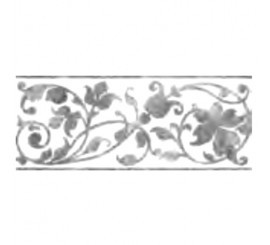 Marazzi Stream Reverse White Decor 20x50 cm