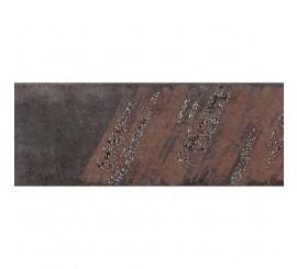 Marazzi Terramix Nero Decor 28x7 cm