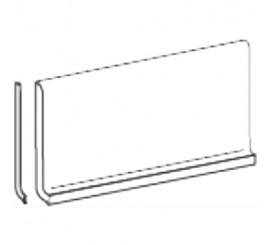 Marazzi SistemC Citta Bianco Helsinki Plinta 10x20 cm