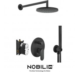 Nobili Up Promo Set de dus incastrat, negru mat