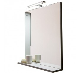 KolpaSan Lana Oglinda cu polita gri, 65xH70 cm
