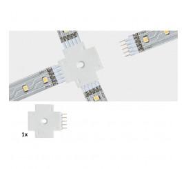 Paulmann MaxLED Conector banda LED, alb