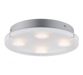 Paulmann Minor Aplica rotunda, 1x18W, transparent