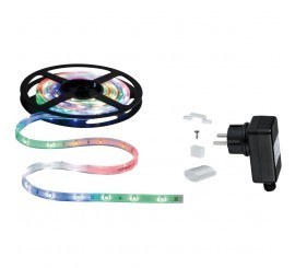 Paulmann WaterLED Set banda LED RGB, 1x7W, 300 cm, lumina multicolora